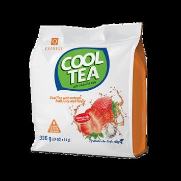 Bột Trà Hòa Tan Cool Tea Hương Dâu